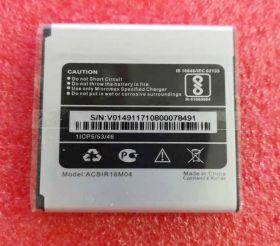 Аккумулятор ACBIR16M02 батарея для MICROMAX q4001