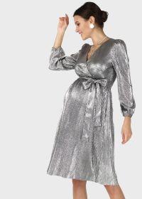 """Платье """"Монро"""" для беременных и кормящих; цвет: черный"""