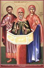 Икона Лазарь Галисийский преподобный