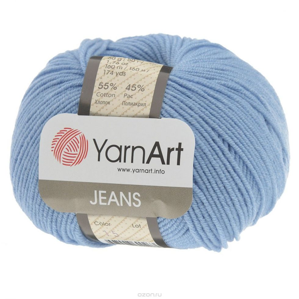 Пряжа «Jeans»