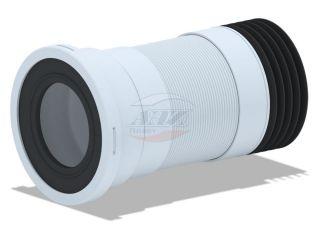 Удлинитель гибкий для унитаза выпуск 110мм (340-870мм)