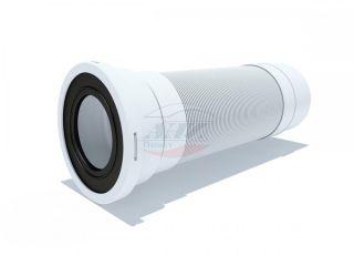 Удлинитель гибкий для унитаза выпуск 110 мм (365-1085мм)