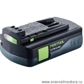 Аккумулятор FESTOOL BP 18 Li 3,1 C 201789