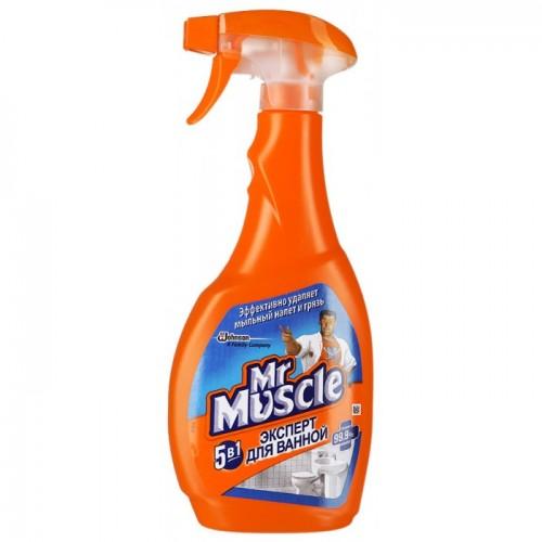 Mr. Muscle для ванной 5в1