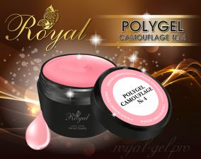 ACRYL GEL CAMOUFLAGE №04 ROYAL 15 мл