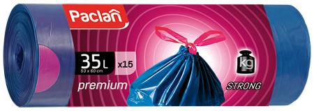 PACLAN Мешки для мусора Premium 35 л Х 15 штук