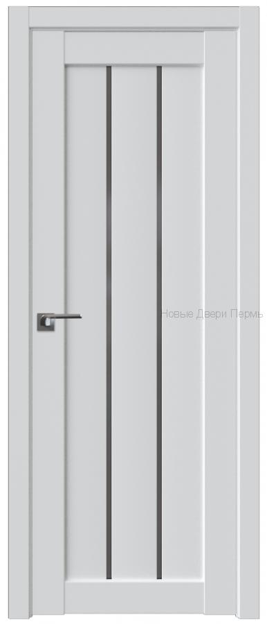 49U АЛЯСКА стекло Графит - PROFIL DOORS межкомнатные двери