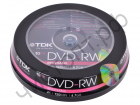 TDK DVD-RW 4,7 GB 4x CB-10
