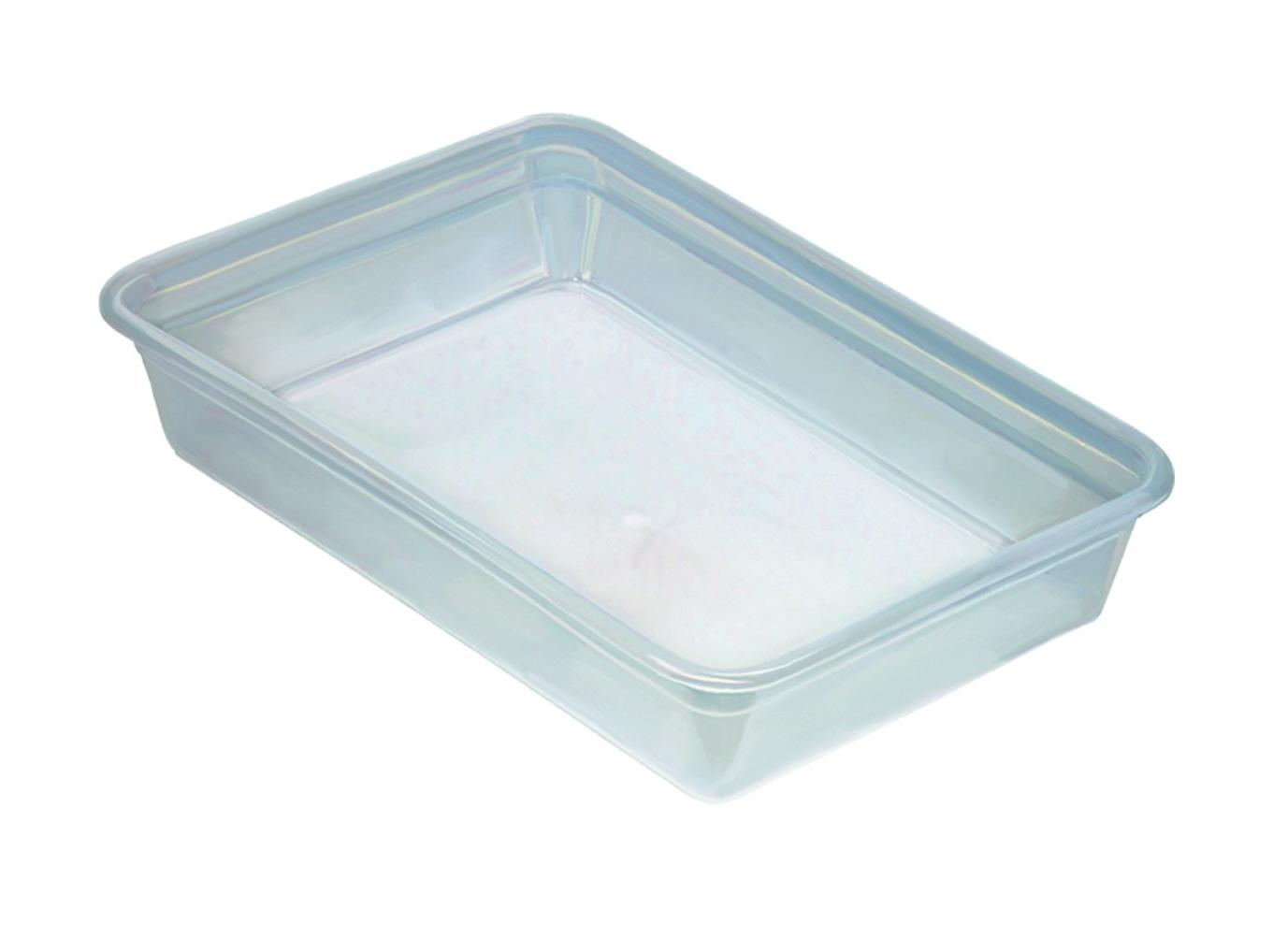 Лоток прозрачный  для пищевых продуктов 3л.