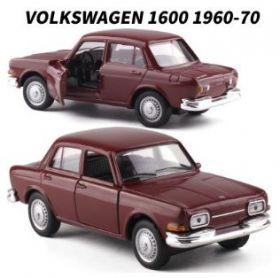 Металлическая модель автомобиля Volkswagen 1600 масштаб 1:38