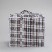 Хозяйственная сумка на молнии, р-р 60х45х25 см