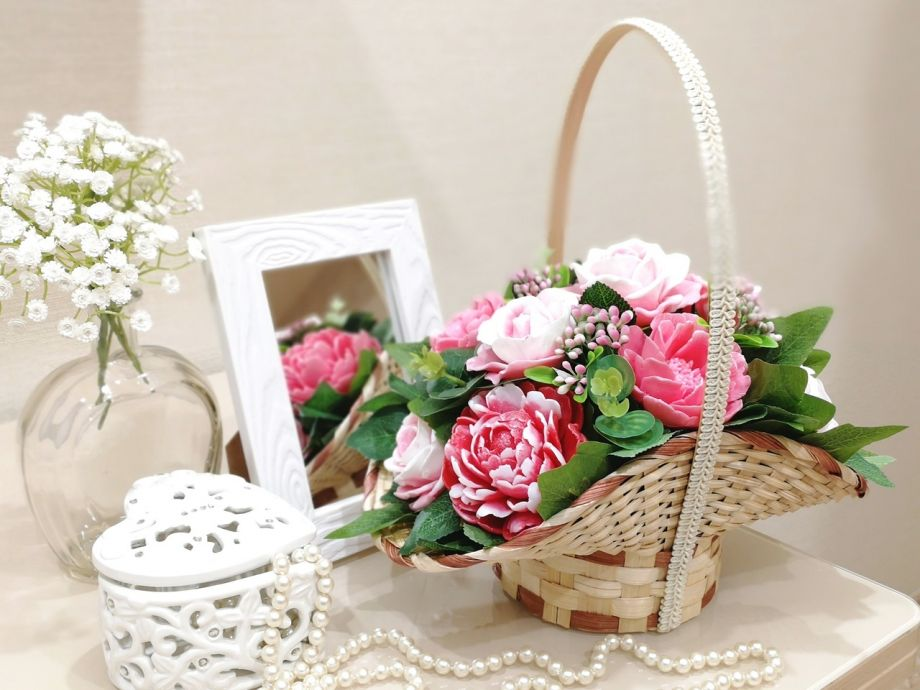 ~Пионы и розы~