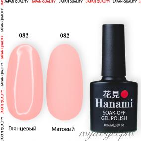 Гель лак HANAMI M082