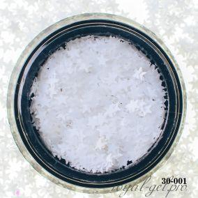 Камифубики Hanami Звезда, белый, 3мм