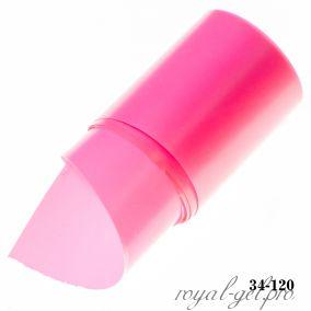 Фольга для литья Hanami матовая, розовый 1м.