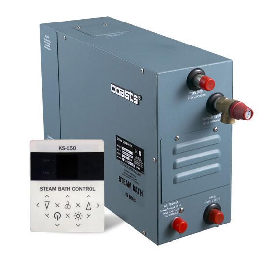 Парогенератор Coasts KSA-90 220v с выносным пультом KS-150