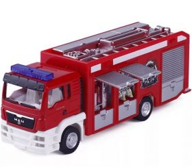 Модель грузовика машинка 1:64 MAN Пожарная машина