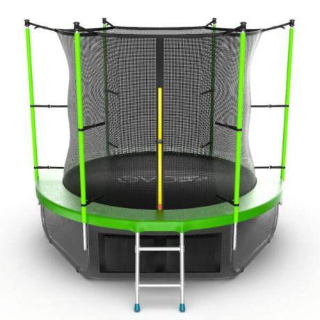 Спортивный батут с защитной сеткой Evo Jump Internal 8ft Lower net Green