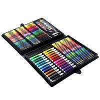 Набор для рисования в чемодане Super Mega Art Set 168 предметов (цвет черный)_2