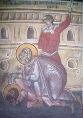 Икона Дада Персидский мученик