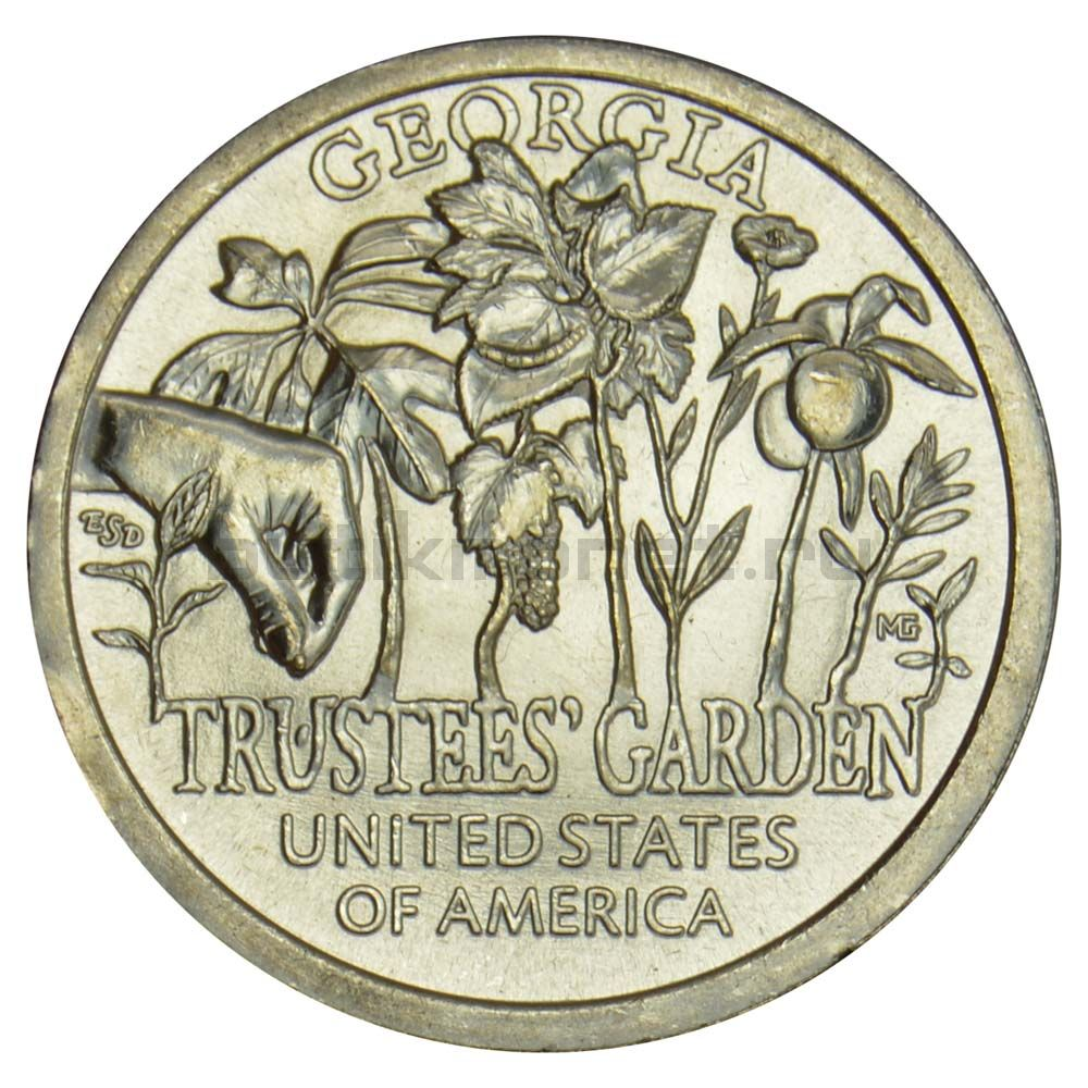 1 доллар 2019 США Сад попечителей (Американские инновации)