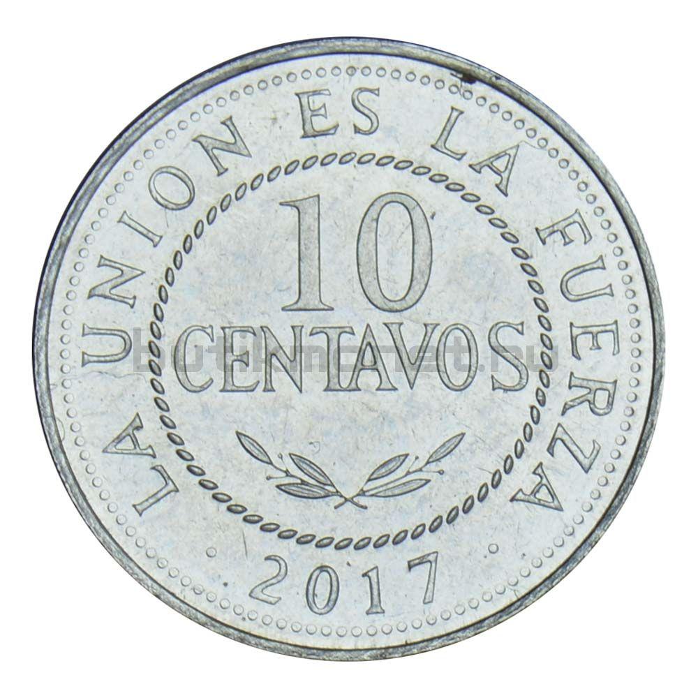 10 сентаво 2017 Боливия