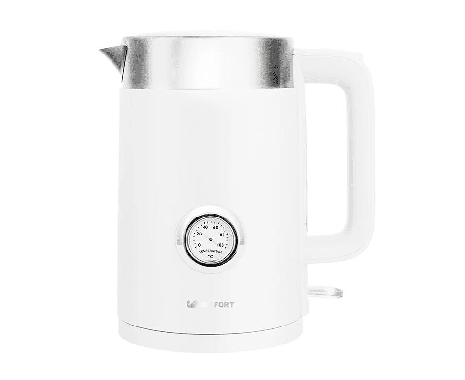 Чайник KitFort КТ-659-1 (белый)