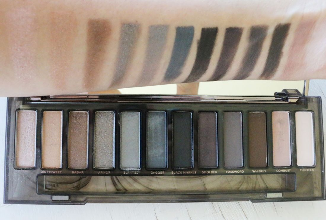 Тени Smoky Eyeshadow Palette