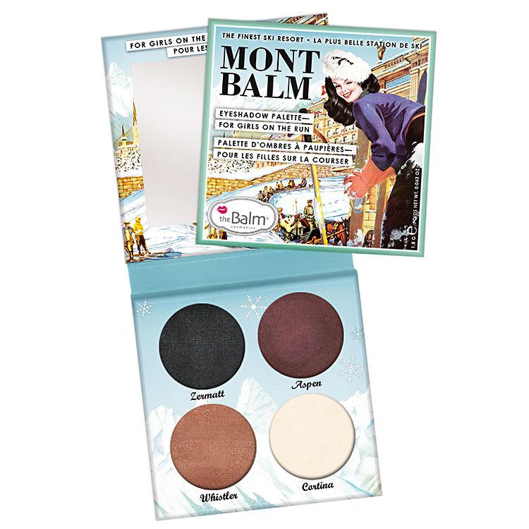 Тени tBalm Mont  Balm 4