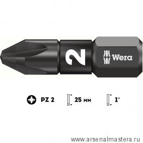 Биты PZ 2/ 25 мм WERA 855/1 IMP DC Impaktor 057621