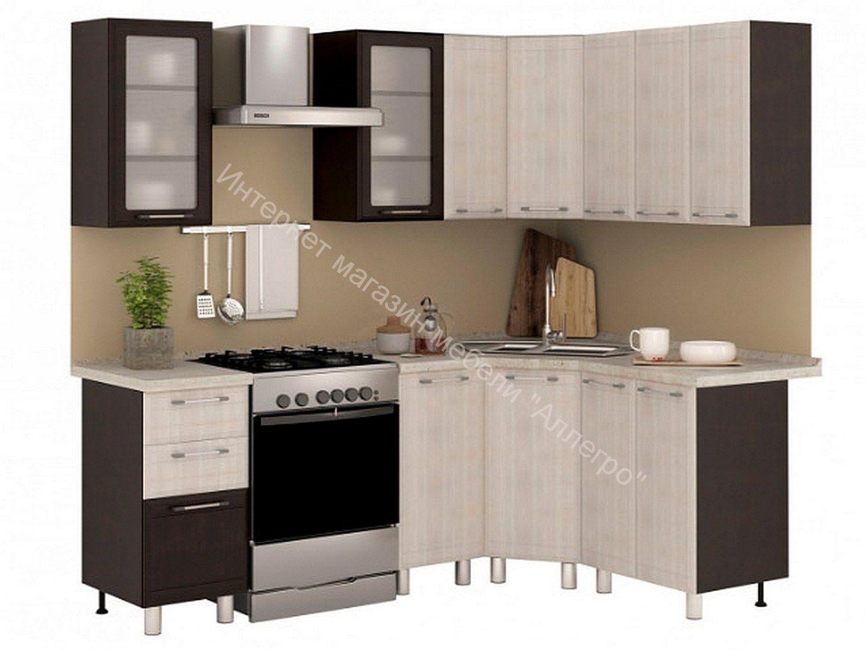 """Кухня """"Терра"""" со столешницей 1,65х1,45м"""