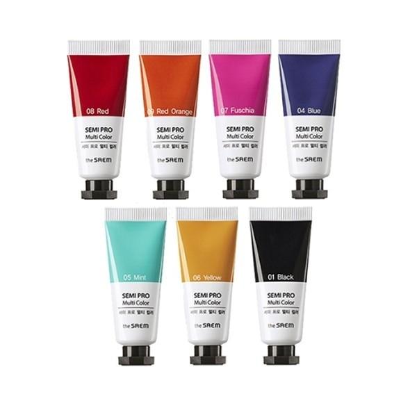 Универсальный пигмент The Saem Semi Pro Multi Color