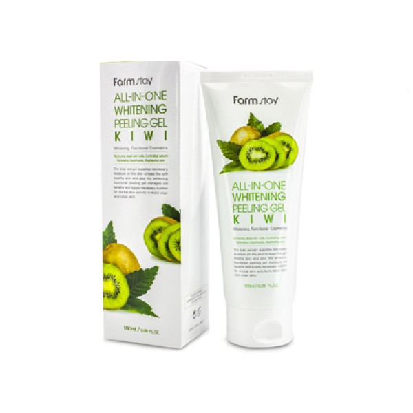 Пилинг для лица Farm Stay Whitening Peeling Gel Cream Kiwi