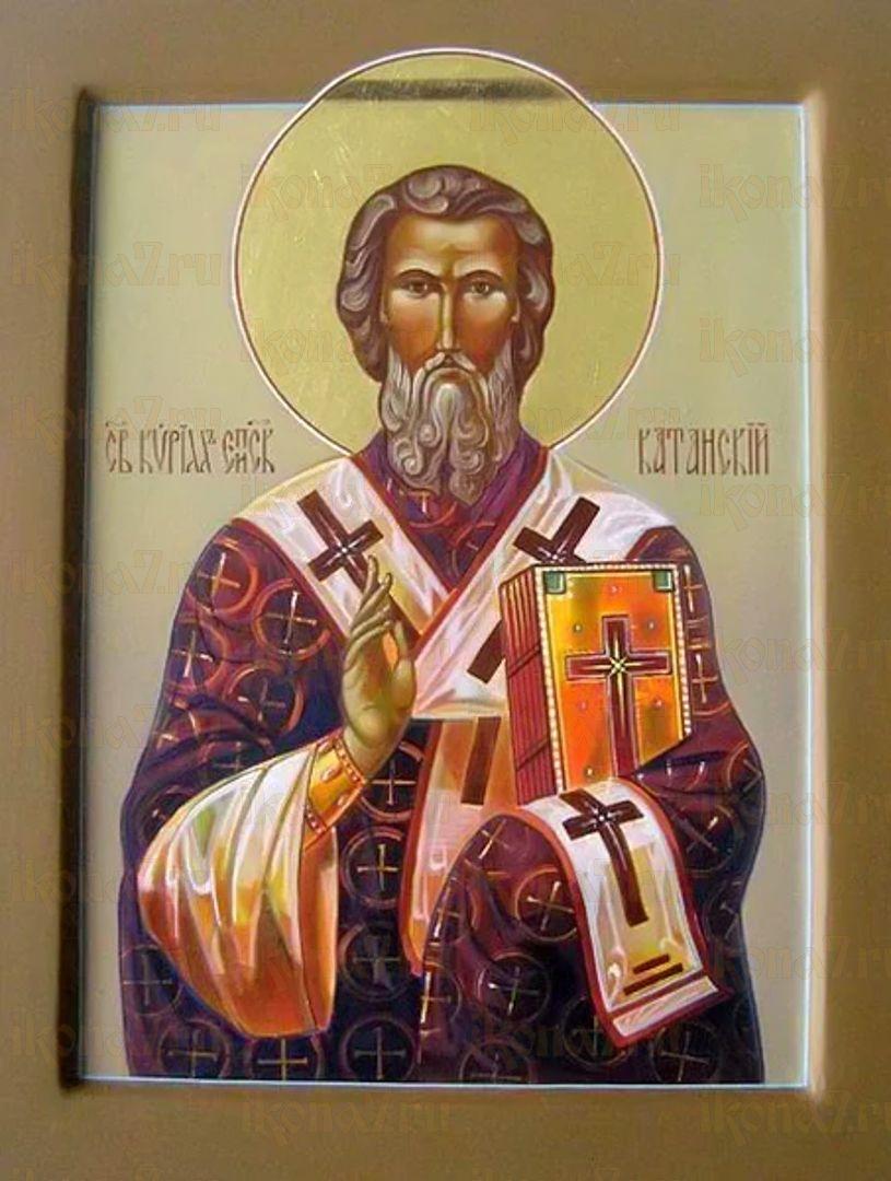 Икона Кирилл Катанский святиткль