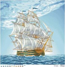 ТП025 Барвиста Вышиванка. Морское Приключение. А1 (набор 5725 рублей)