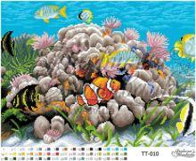 ТТ010 Барвиста Вышиванка. Подводный Мир. А3+ (набор 2550 рублей)