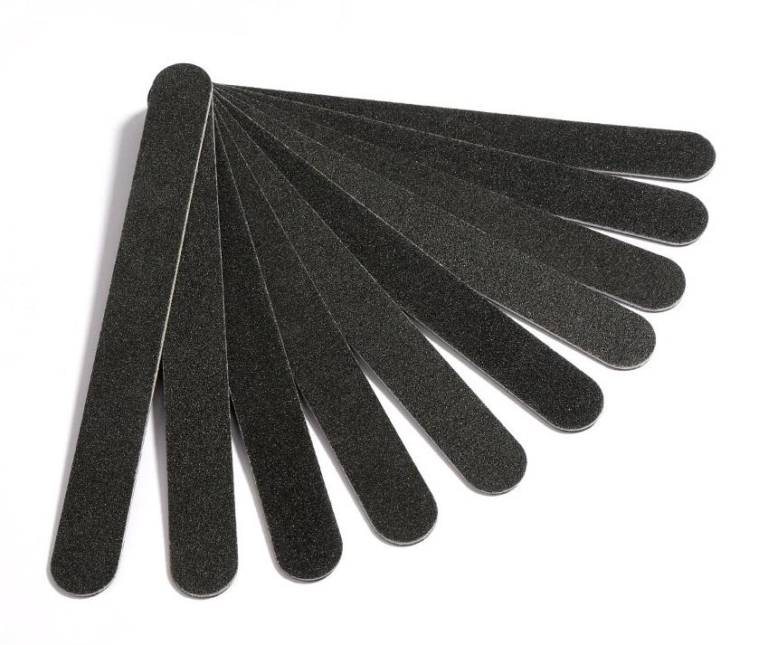 Пилка чёрная 180/240 (прямая) Китай уп.25шт