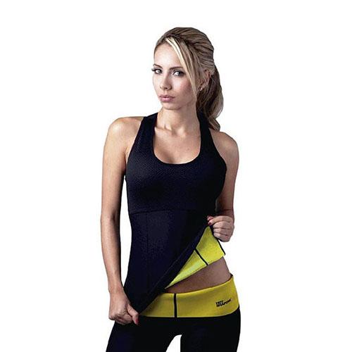 Майка для похудения Hot Shapers (Хот Шейперс), цвет черный, размер XL