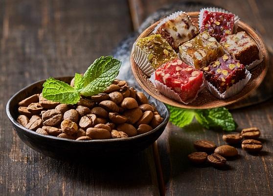 """Кофе в зернах эспрессо """"Италия"""" и мармарис микс 200 гр."""