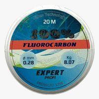 Леска 0,10 мм 20 м флюорокарбон Expert Profi Fluorocarbon 100%