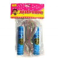 Детская скакалка Jump Rope (цвет синий)
