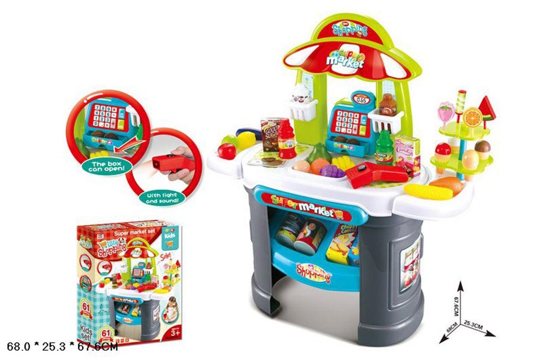 008-911 Игровой модуль магазин с кассой и аксессуарами Super Market