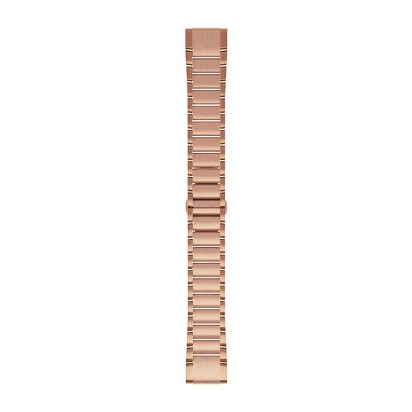 Ремешок сменный QuickFit 20мм металлический розовое золото