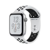 Apple Watch Series 4 Nike+ 44mm Silver Aluminum Case with Pure Platinum/Black Nike Sport Band