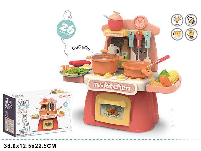 889-174 Детская игровая кухня mini со светом и звуками