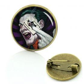"""Значок """"Джокер""""  D2,1 см"""
