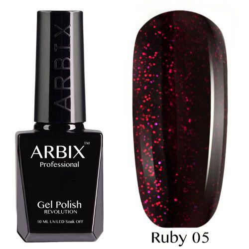 Гель-лак Arbix RUBY 10 мл СКАЗКИ ШАХЕРИЗАДЫ 05