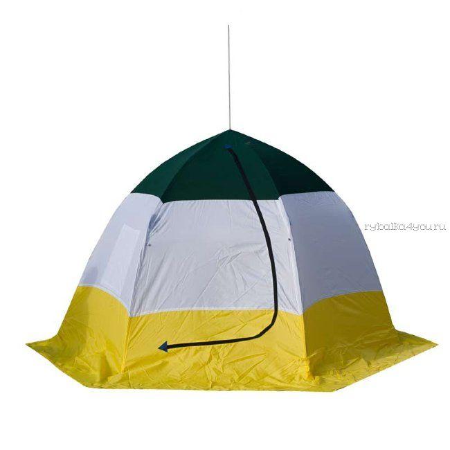 Палатка-зонт без дна СТЭК Elite 2-х местная / двухслойная