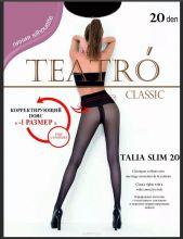 Колготки женские Teatro Talia Slim 20 den черные nero