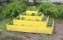Клумба К- пирамида цвет  К-140 К-100